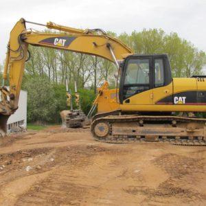 Kettenbagger / Tracked Excavator